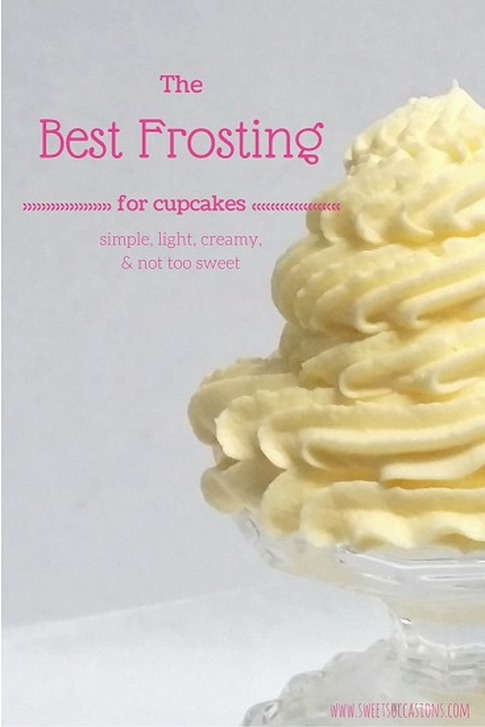 {Sweets Occasions} BEST FROSTING EVER!! My go to frosting