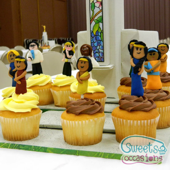 {Sweets Occasions} Fondant Cupcake People